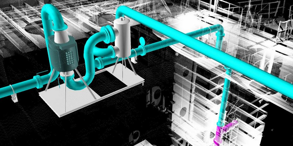 3D Scanning for BWTS - Ballast Water Treatment System
